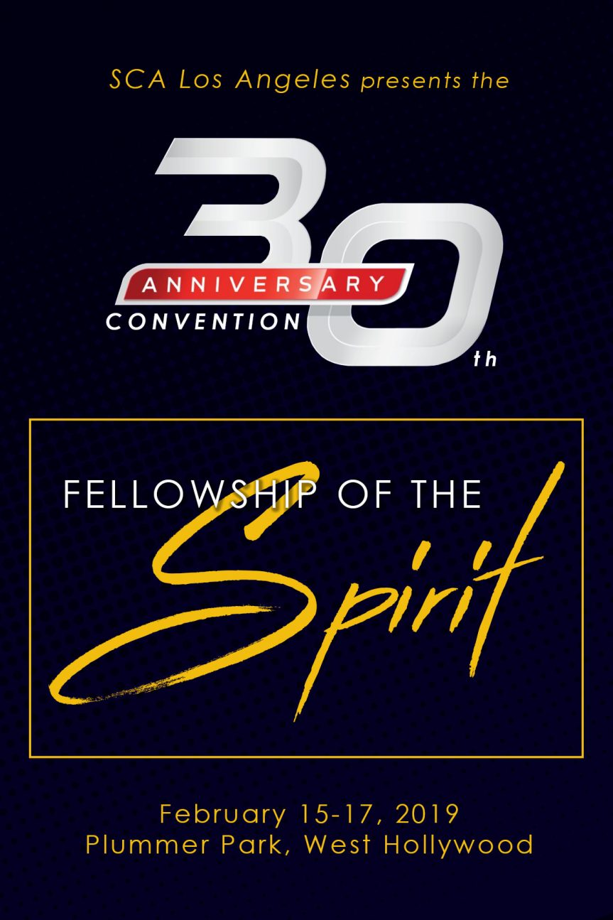SCA Los Angeles 30th Anniversary Convention